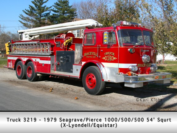 Braceville Fire Department Seagrave Pierce Squrt