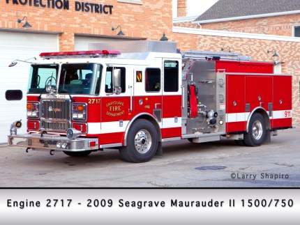 Grayslake FPD Seagrave Maurauder II engine