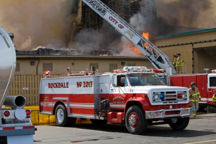 Rockdale FPD tanker Empress Casino Fire