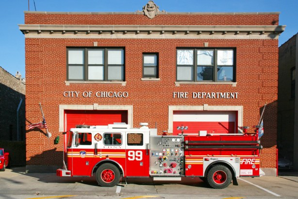 Seagrave engine Rescue Me TV show