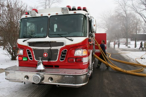 Country Club Hills Fire Department fire on 173rd Street Crimson