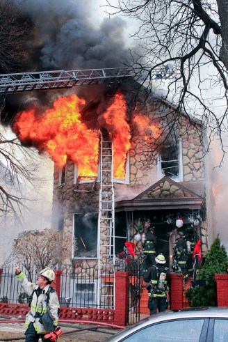 Chicago Fire Department 2-11 Alarm fire at 4315 W. 25th Place