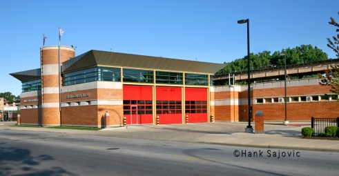 Chicago Fire Department station for Engine 84