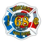 Chicago Fire Department Engine 68 patch