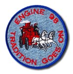 Chicago Fire Department Engine 98 patch