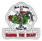 Chicago Fire Department Engine 76 patch