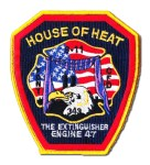 Chicago Fire Department patch Engine 47