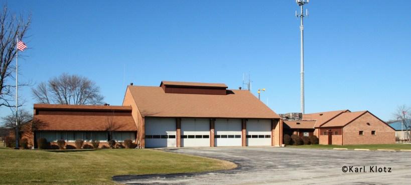 University Park Fire Department station