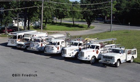 Winthrop Harbor Fire Department fleet photo