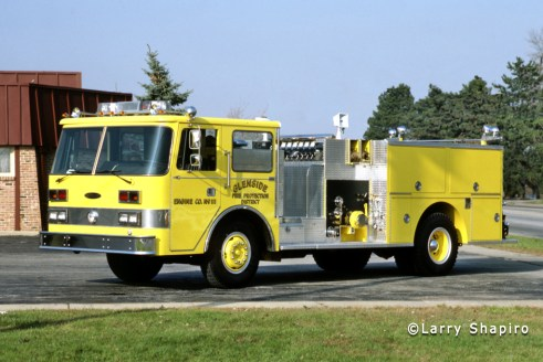 Glenside Fire Protection District 1981 Pierce Arrow engine