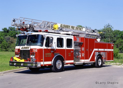Glenside Fire Protection District E-ONE Cyclone HP75