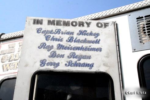 FDNY Rescue 4 9/11 memorial