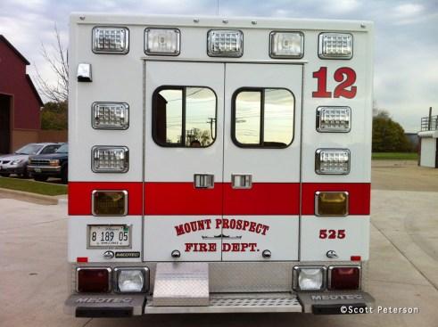 Mount Prospect Fire Department Medtec ambulance