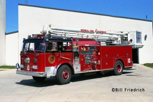Normal Fire Department Seagrave 50' Snorkel