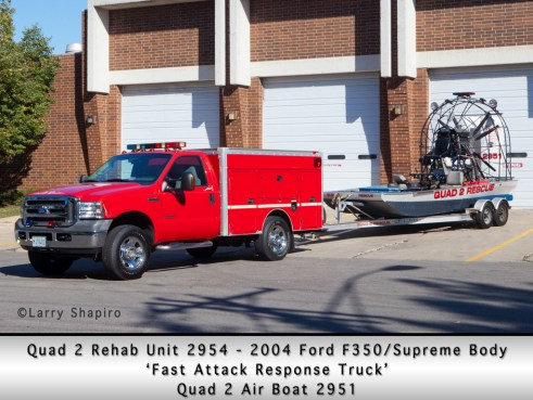 Antioch Fire Department Lake County Quad 2 rehab