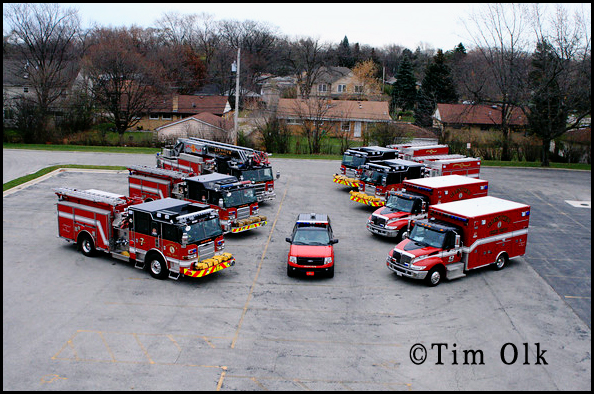 Glenview Fire Department apparatus fleet