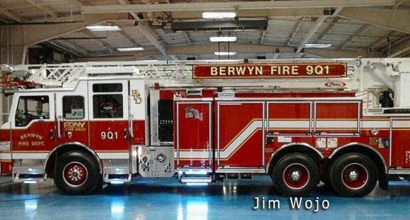 Berwyn Fire Department Pierce Impel PUC quint
