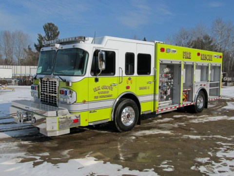 Elk Grove Township FPD Spartan Marion engine