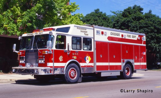 Chicago Fire Department Haz Mat Unit 511 5-1-1