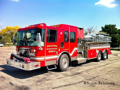 Palatine Rural Fire Protection District Tender 36