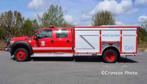 Tri-State Fire Protection District Crimson Squad 526