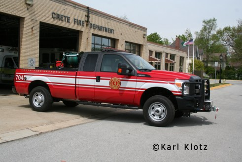 Crete Fire Department Brush 704 2011 Ford F350 250-250