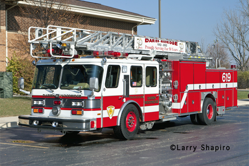 Darien-Woodridge FPD Truck 619