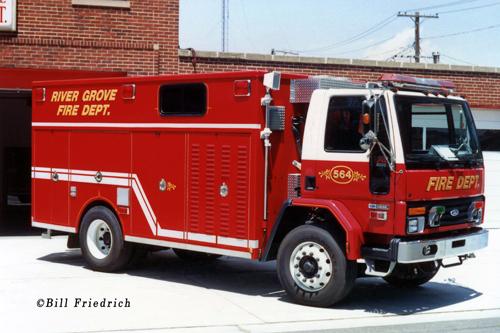 River Grove Fire Department Rescue 564