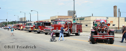 Fire muster in Chicago 2012