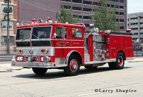 Wadsworth Ohio Ward LaFrance Ambassador P80 engine belonging to Doug Reno