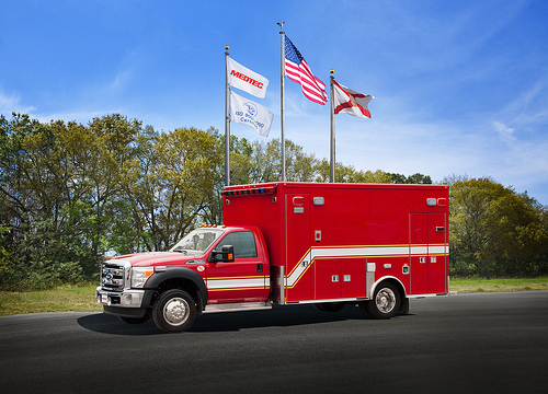 East Joliet Fire Department new Medtec ambulance