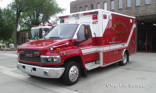 Bridgeview Fire Department Ambulance