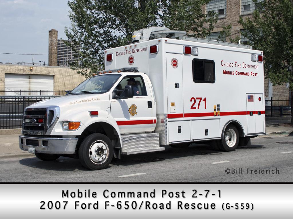 Mobile Ambulance Bus Chicagoareafire