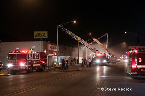 Cicero Fire Department Dollar Store fire 7-31-12