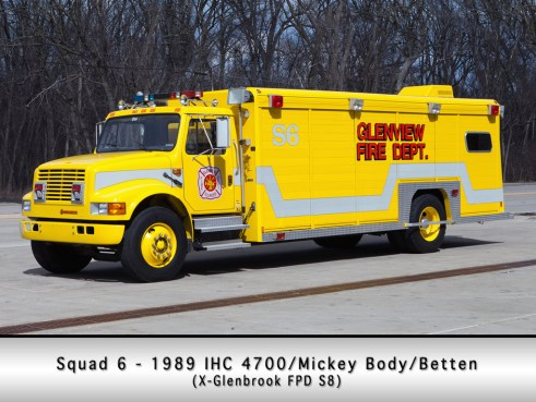 Glenview Fire Department Squad 6