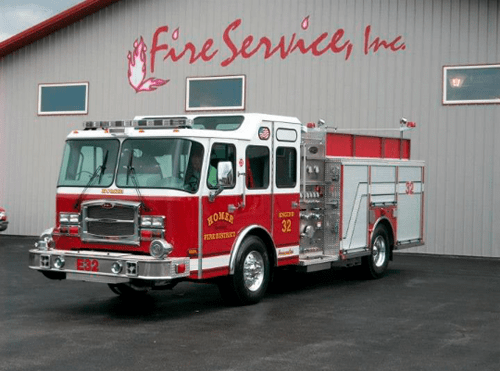 Homer Township FPD gets new E-ONE engine