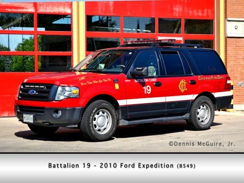 Chicago Fire Department Battalion Chief 19