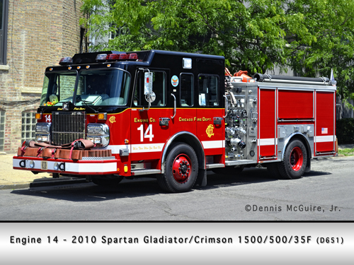 Chicago Fire Department Engine 14