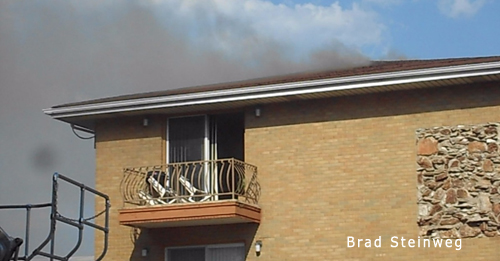 Calumet City apartment fire 8-25-12