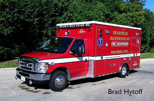 Deerfield-Bannockburn FPD Ambulance 19 Medtec