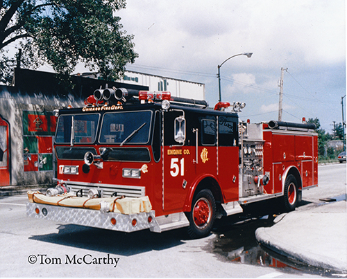 Chicago Fire Department engine from the movie Backdraft