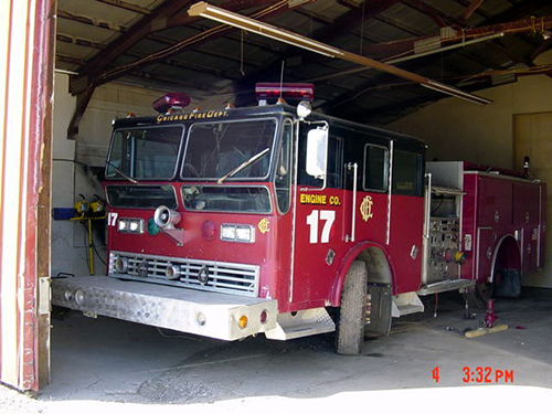 Chicago FD engine used in the movie Backdraft