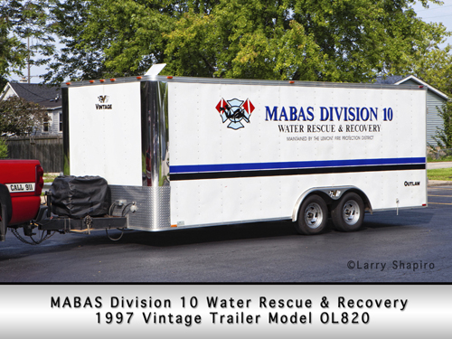 MABAS Division Water Rescue Unit