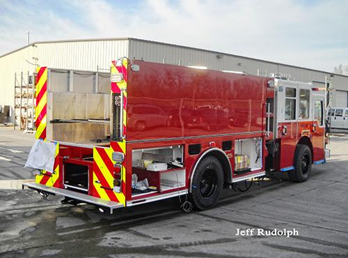 new Pierce Dash CF PUC being built for Skokie