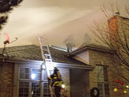 Frankfort house fire
