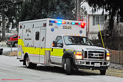 Fox Lake ambulance