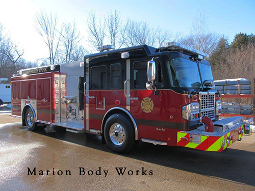 New Spartan Metrostar Marion Body Works engine for Franklin Park IL