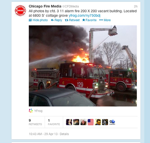 3-11 Alarm Fire in Chicago