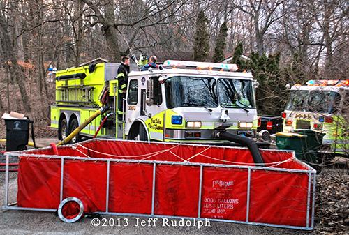 Fox Lake Fire Department tender