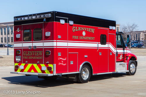 Glenview FD Ambulance 6